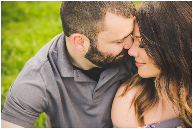 Fowler Park engagement session Terre Haute