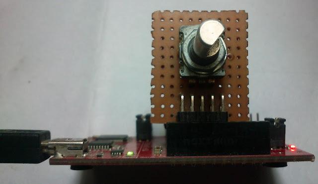 Rotary Encoder Interfacing With MSP430 LaunchPad | Electronics Infoline
