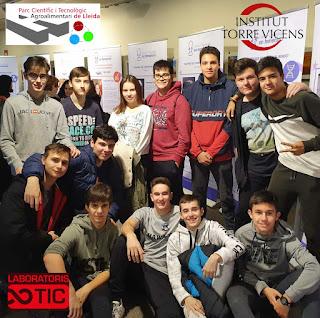Estudiants de l'Institut TorreVicens comencen pràctiques curriculars online als LaboratorisTIC del Parc Científic de Lleida