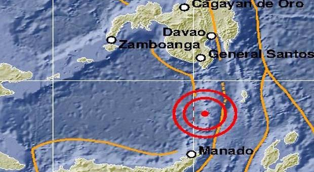 Kepulauan Talaud Sulawesi Utara Diguncang Gempa 7,1 SR