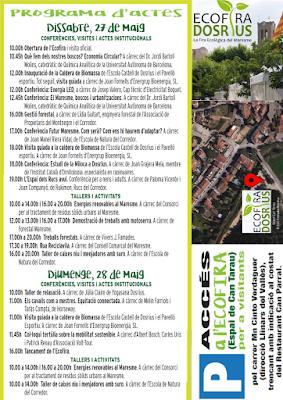 Programa Oficial Ecofira Dosrius 2017 - Eixmedia