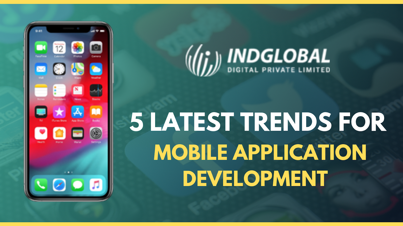 5 latest trends for mobile application development