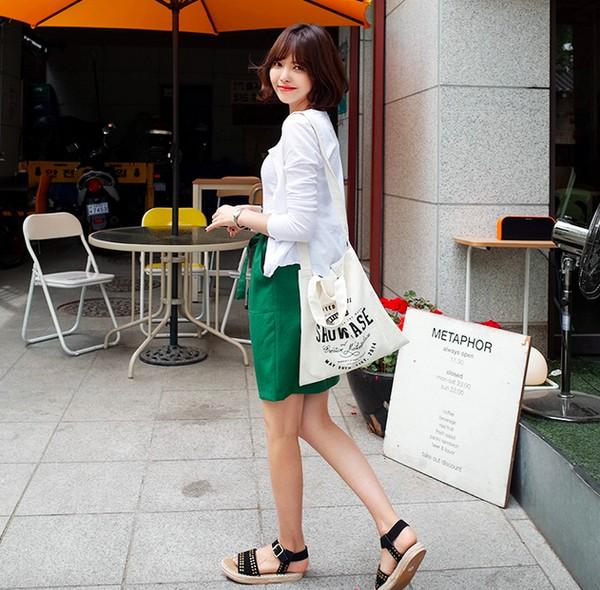 Đi tìm 6 xu hướng giày đế cao bạn nghiện mặc cùng đồng phục cho mùa back to schoo11l