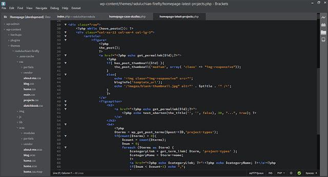 Brackets Açık Kaynaklı Kod Editörü Hakkında