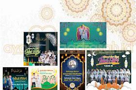 Kumpulan PPT Video Ucapan Selamat Idul Fitri Bisa Diedit