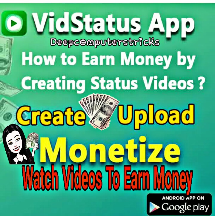 Make Money While Watching The Video From Vidstatus