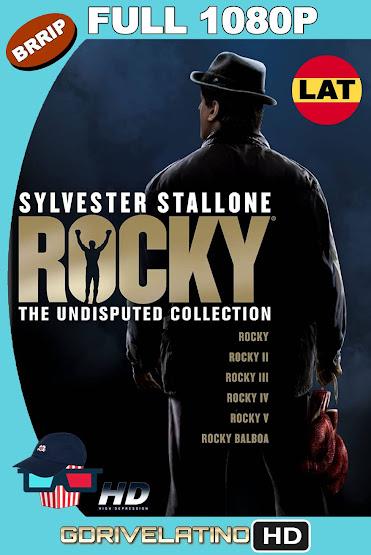 Rocky (1976-2006) Colección BRRip 1080p Latino-Ingles MKV