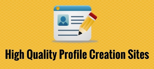 Do-Follow Profile Creation Sites List 2019