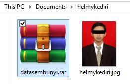 Cara menyembunyikan file didalam gambar4
