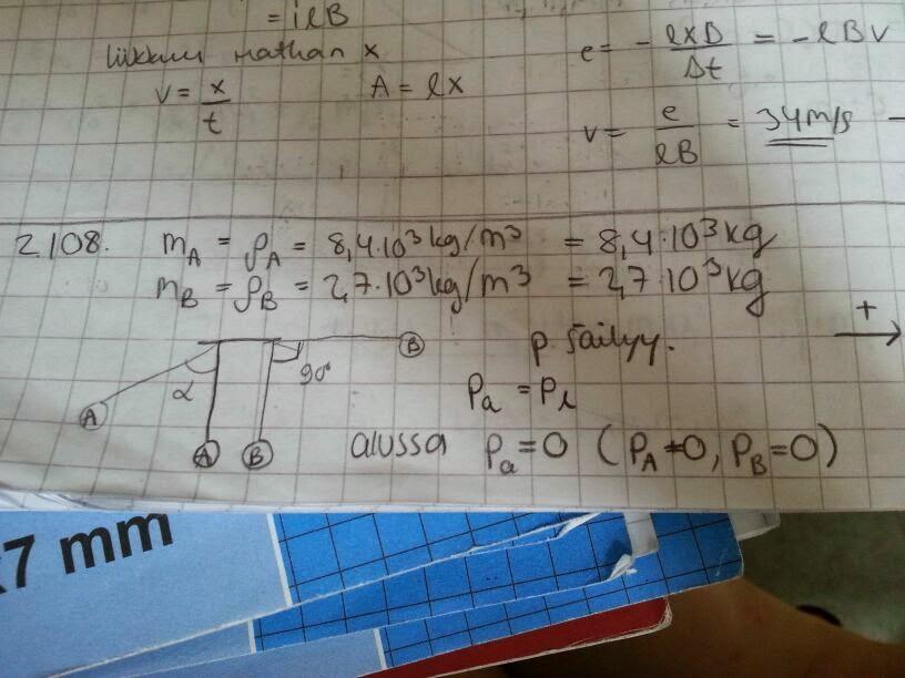 fysiikka 2 tehtävien ratkaisut