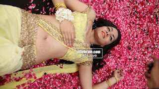 Sakshi Chodary in Yellow Transparent Sareei Choli Spicy Pics 25 .xyz.jpg