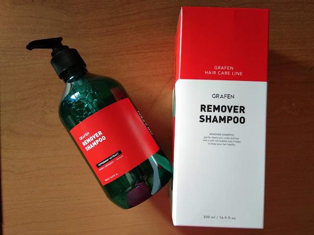 Grafen Remover Shampoo Anti Ketombe
