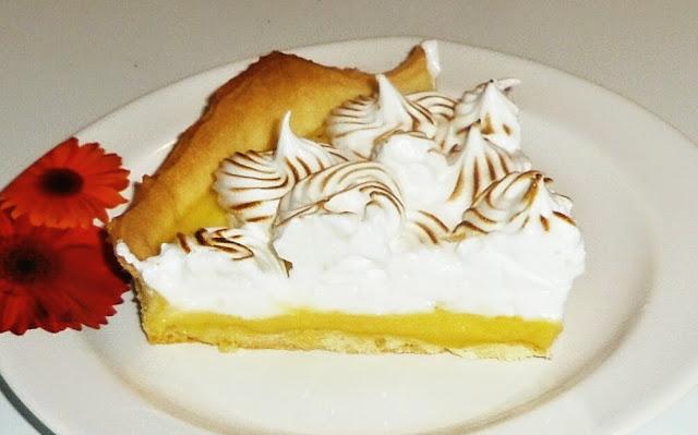 tarte au citron, tarte au citron meringuée, tarte gourmande, meringue