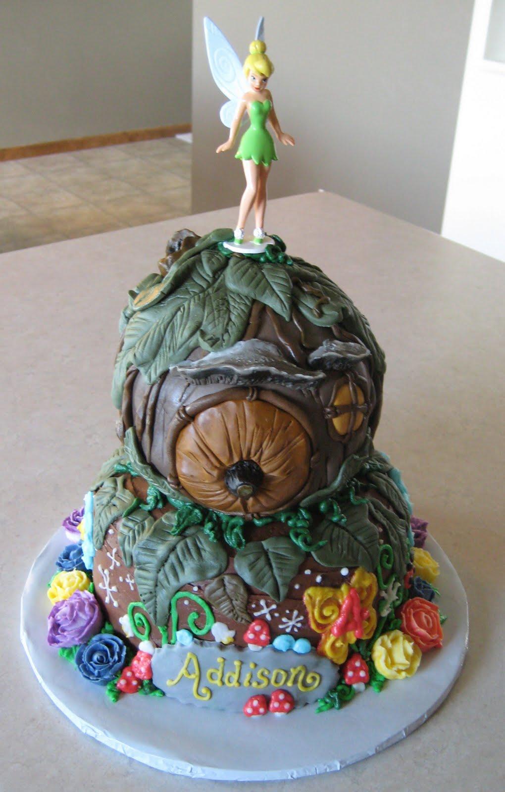 Custom Cakes By Julie Tinkerbell Cake