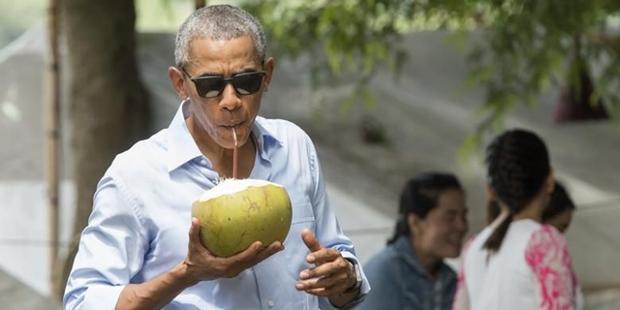 Barack Obama, Obama Liburan Ke Bali