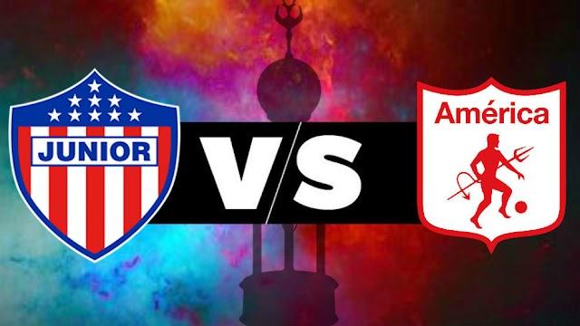 América de Cali y Junior para el debut en la Liga BetPlay 2021-II