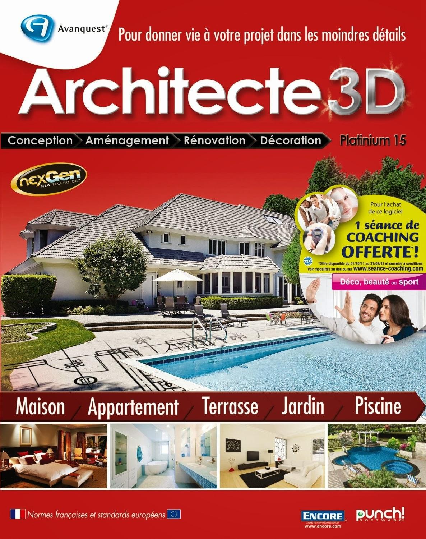 Logiciels Cracked Architecte 3d Platinium 15 Keygen