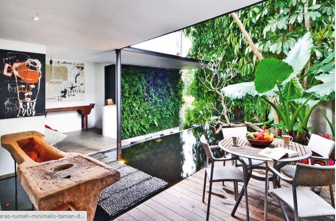 53 Gambar Teras Belakang Rumah Minimalis Sederhana
