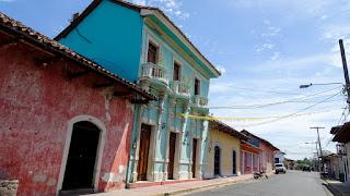 Ancient buildings in Nicaragua