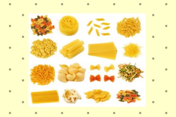 these are photos of different pastas