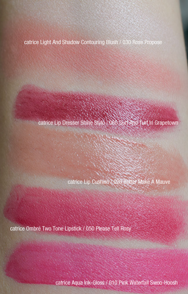 Catrice Swatches, Lippenstifte, Blushes, Sortimentsupdate, Review