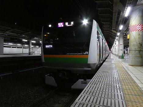 【3月ダイヤ改正で廃止!】E233系の通勤快速 籠原行き