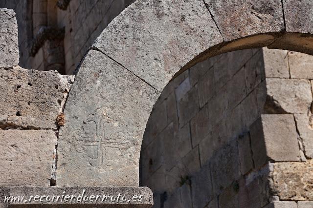 Detalle arco Ermita S. Frutos, Segovia