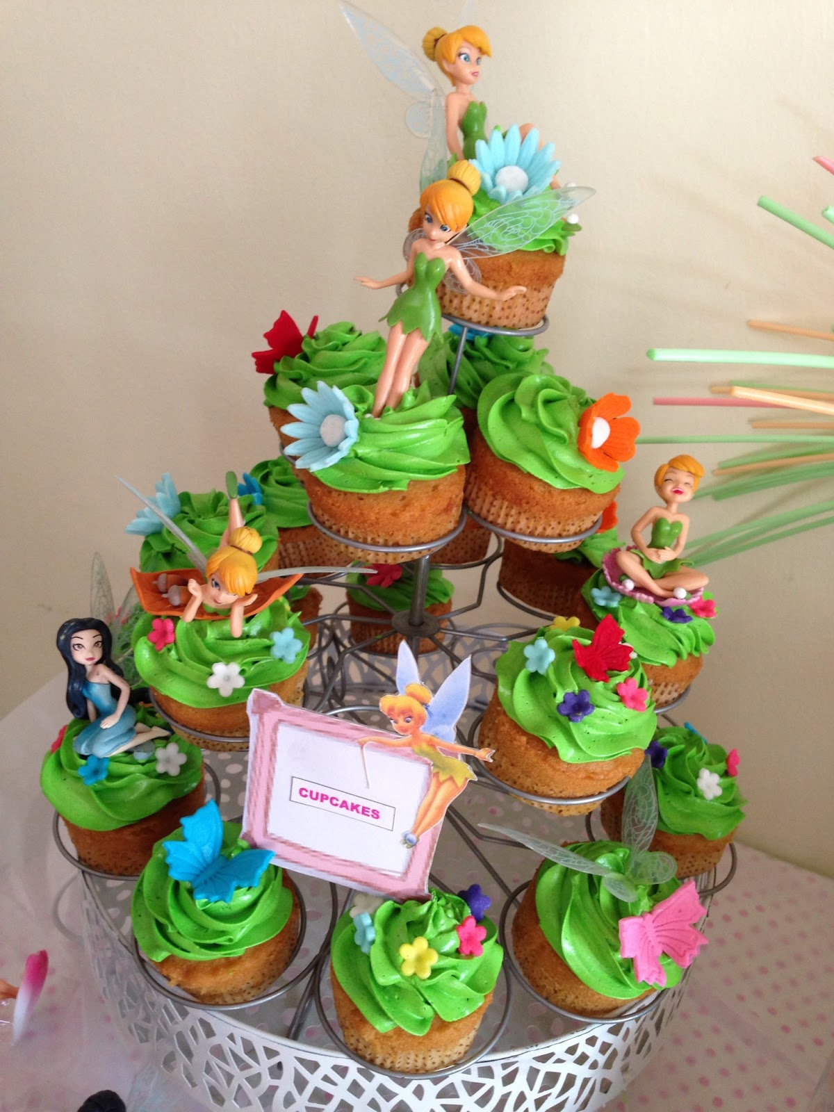 Ninie Cakes House Tinkerbell Theme Candy Bar Package