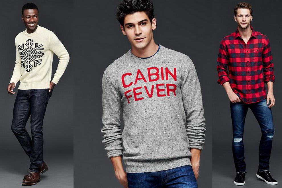 2379bfb42bc Как всегда бренд GAP умело сочетает тенденции мужской моды и свои идеи  того