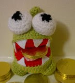PATRON OM NOM (CUT THE ROPE) AMIGURUMI 1853