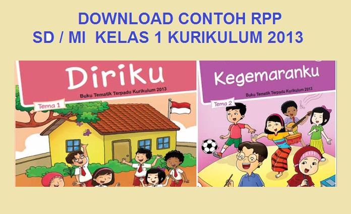 Download Rpp Sd Mi Kelas 1 2 3 4 Kurikulum 2013 Pendidikan Kewarganegaraan