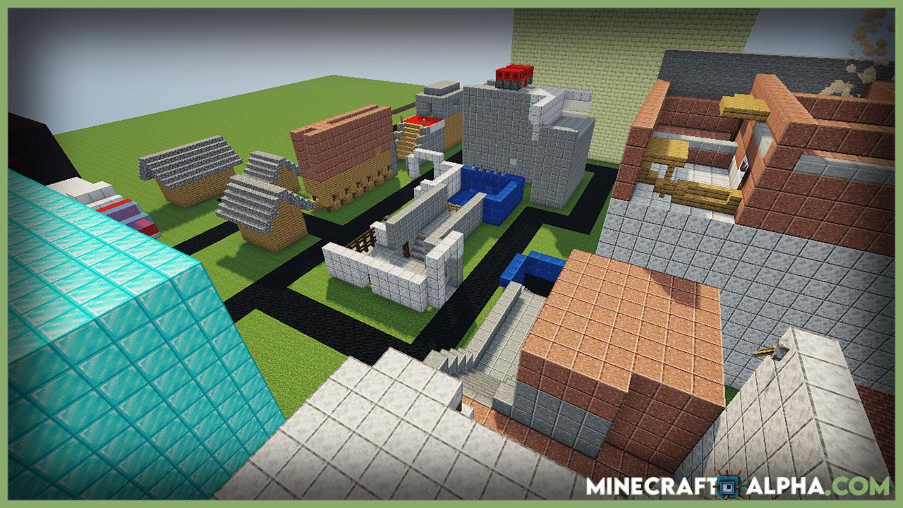 Minecraft Parkour Map