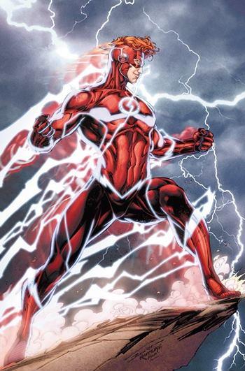 Wally West es el tercer Flash de DC Comics