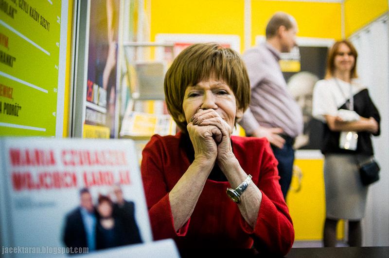 targi książki krakow, jacek taran, expo, maria czubaszek