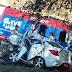 TRÁGICO: Avó, mãe e filho morrem após colisão entre carro e caminhonete na BR-381