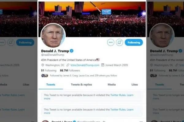 Twitter, Facebook block Trump over Capitol attack posts