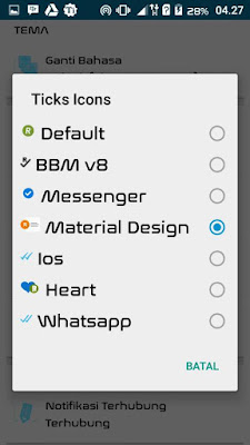 BBM Mod Originally Mix Max v3.0.0.18 Apk Terbaru Gratis