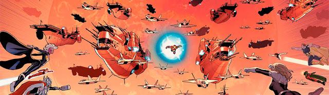 Reseña de Marvel Now! Deluxe. Secret Wars: Integral, de Jonathan Hickman y Esad Ribic.