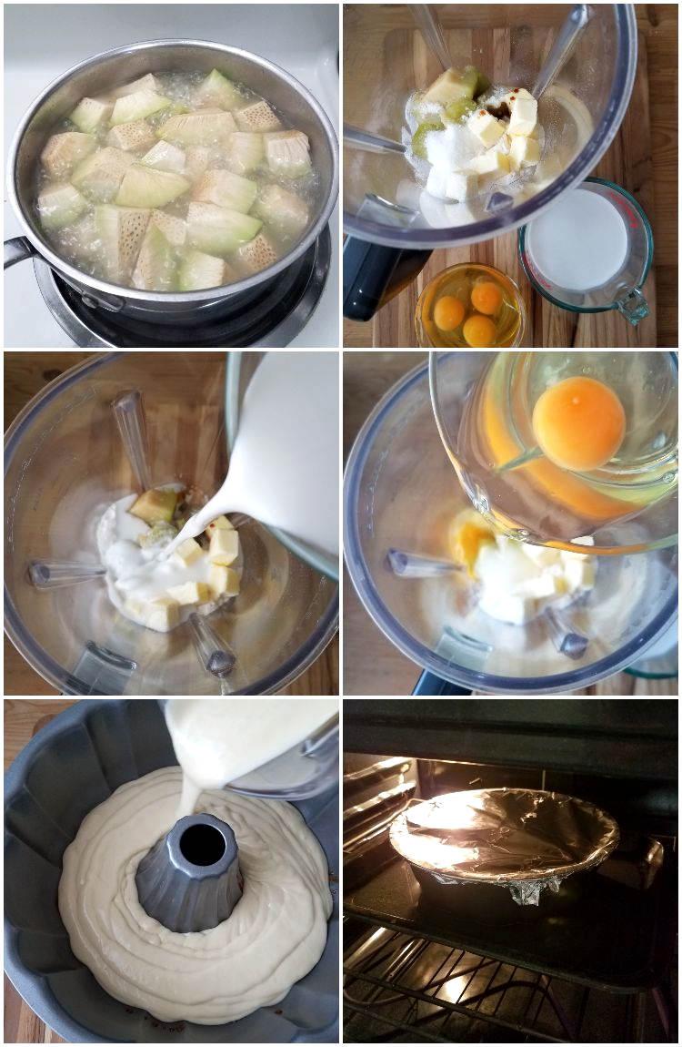 Cómo hacer el flan de pana con coco