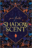 Shadow Scent by P. M. Freestone book cover and review