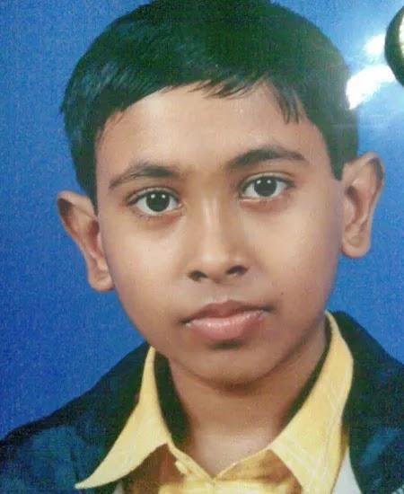 Sandy Saha Childhood Pic