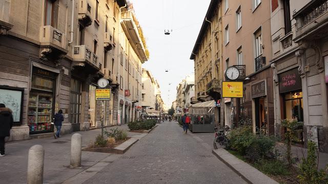 Chińska dzielnica w Mediolanie