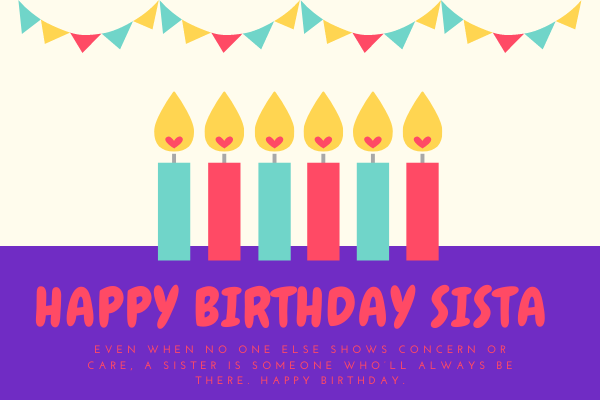 Images of Happy Birthday Sister - ImagesHappyBirthday.com
