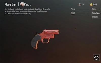 Thoạt trông Flare Gun chắc là một khẩu pháo lục bình thường có red color sặc sỡ