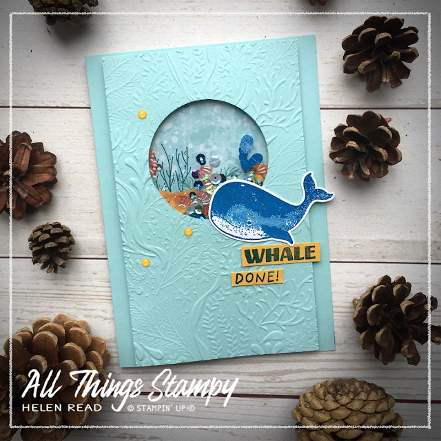 Stampin up cards whale of a time allthingsstampy
