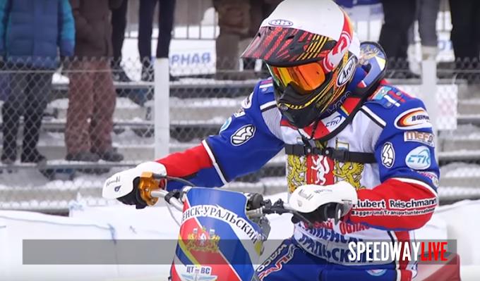 Jégmotor - Dimitry Khomitchevich nyerte az orosz egyéni bajnokság 1.versenyét.