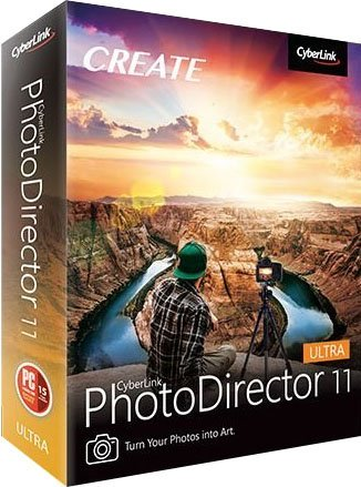 CyberLink PhotoDirector Ultra 11.0.2516.0 poster box cover