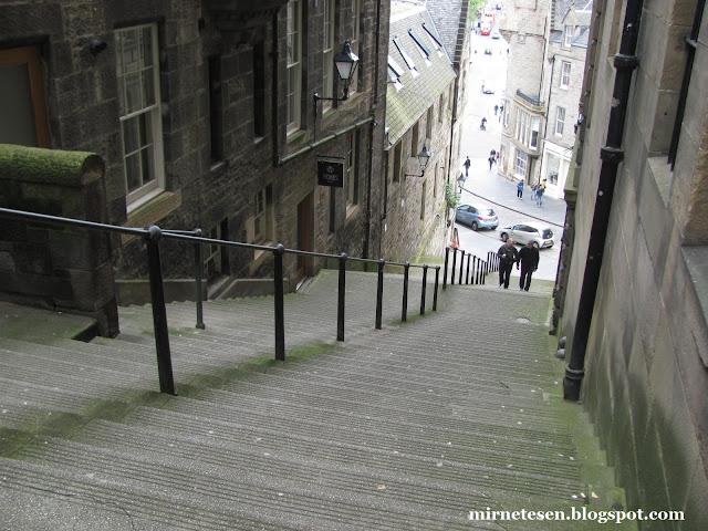 Эдинбург - город-сказка