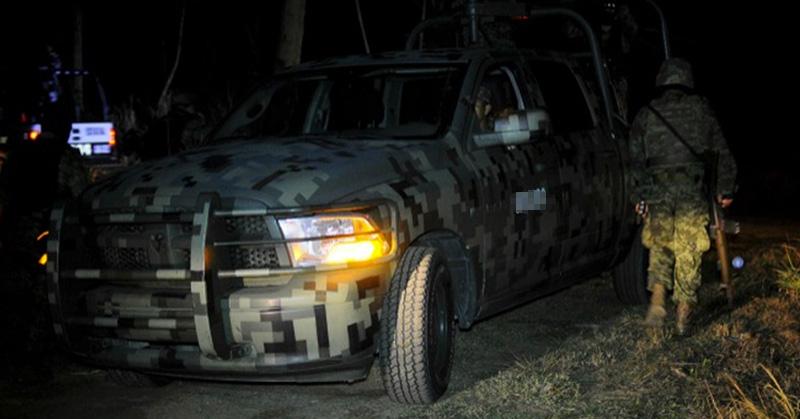 9 Sicarios abatidos del Cártel del Noreste es el saldo de una emboscada a Soldados esta noche en Nuevo Laredo