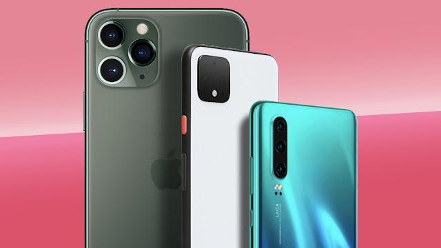 Triple camera phone